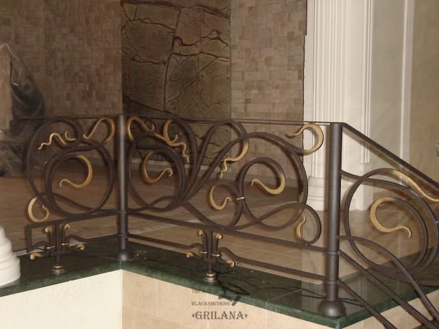 Перила для сходів StR-10